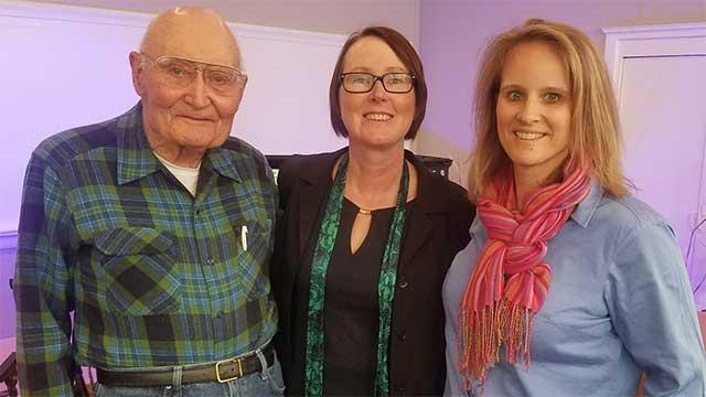 THE LOVING CUP: WWII veteran Ed Chase & Leah Ntuala of Seneca Falls on gratitude (podcast)